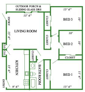 New Hollister – 3 Bedroom - Puffton Village